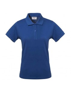 Polo DONNA TAKE TIME m/corta 100%cotone HH156